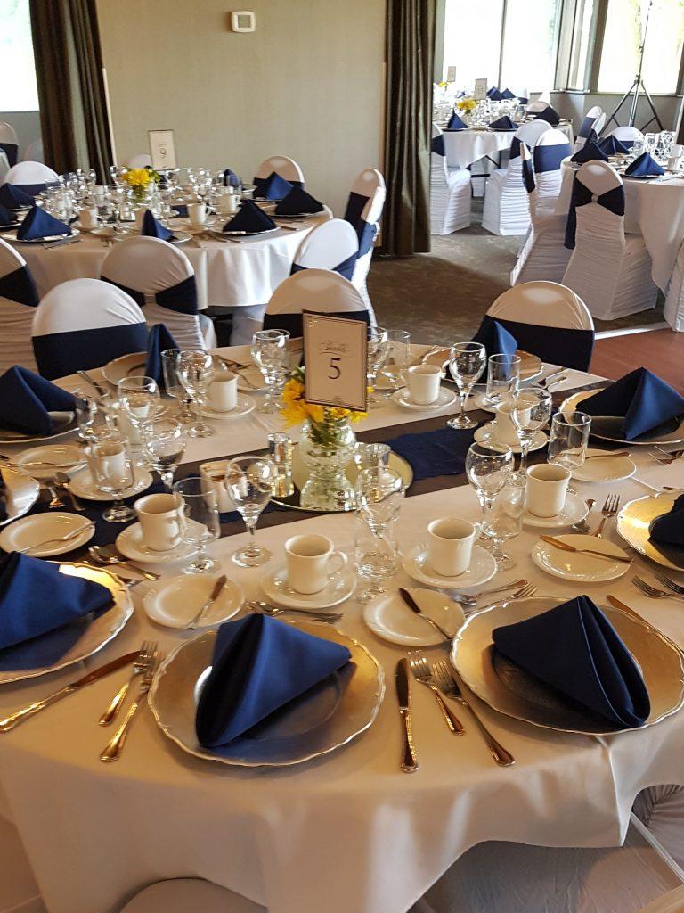 Wedding Table Linens.Linens Decor Wedding Corporate Dj Regina Audio Equipment